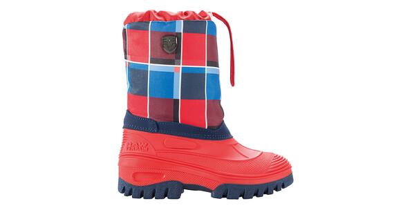 CMP Campagnolo Tykky Snow Støvler rød/blå